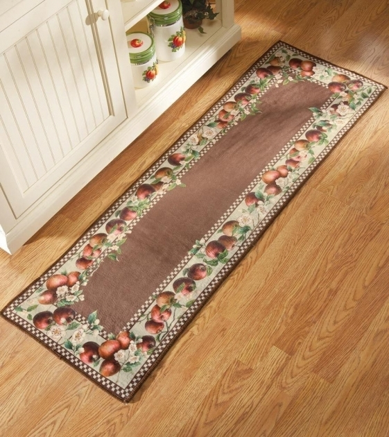 Border Country Themed Apple Rugs For Kitchen Photo 87