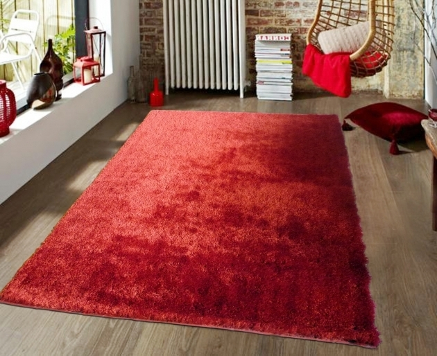 Cheap Large Red Area Rug 8 X 10 Shag Rugs Photo 78