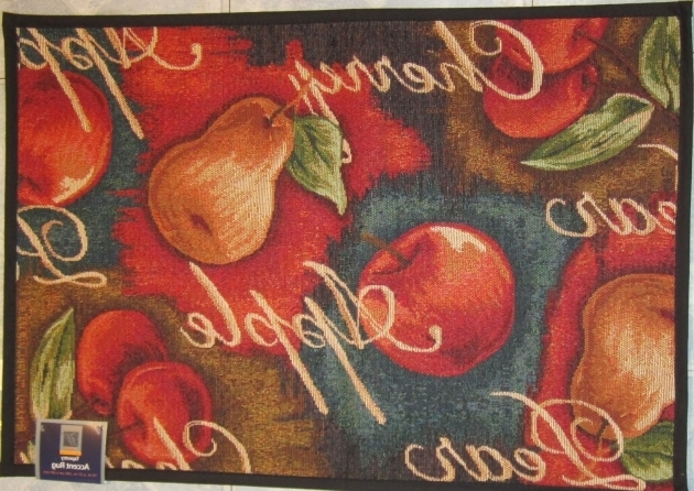 Cherry Apple Rugs For Kitchen Pear Tapestry Rug  Photos 58