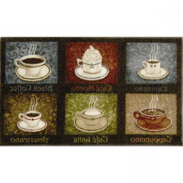 Coffee Rugs For Kitchen Style Multicolor Rectangular Indoor Tufted Throw Picture 85