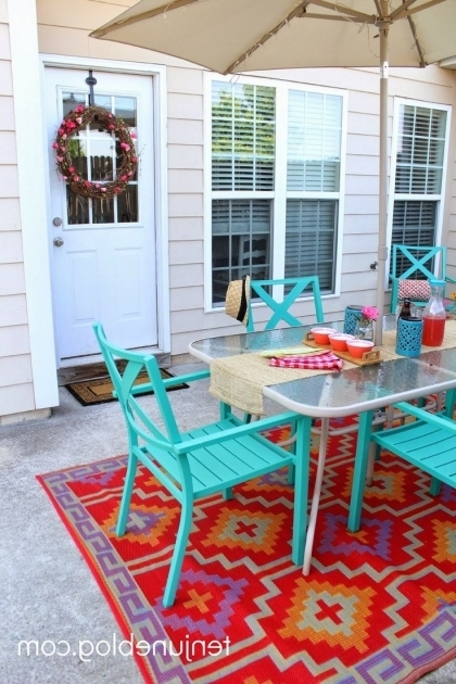 Extra Large Outdoor Rugs Ideas For Balcony With Dining Table Pictures 54