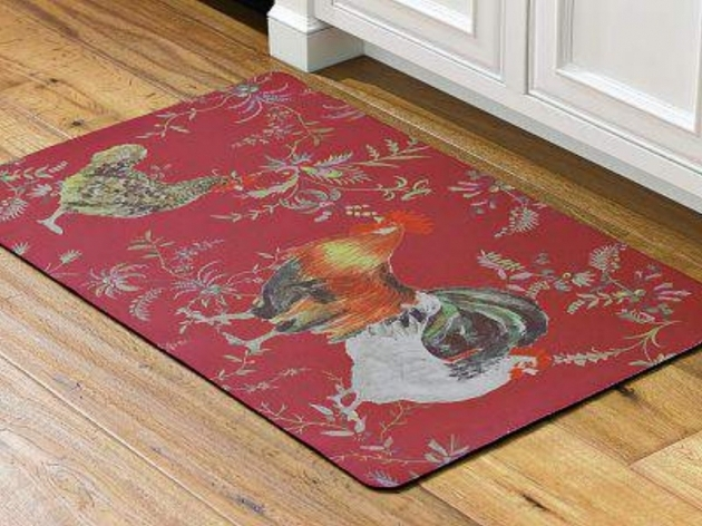 Inspired Rooster Rugs For The Kitchen Ideas Picture 25