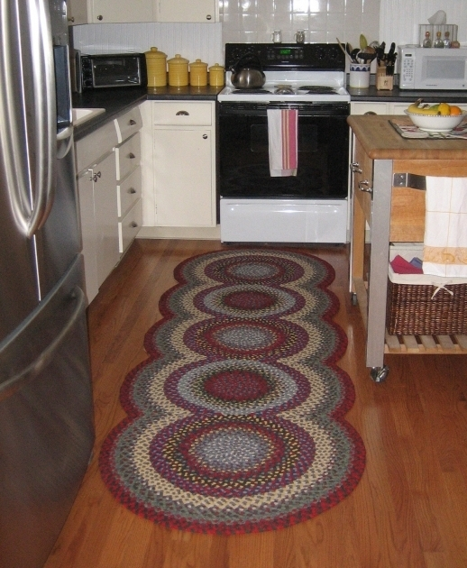 Kitchen Area Rugs For Hardwood Floors Braided Rug Ideas Photo 38