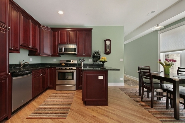 Kitchen Area Rugs For Hardwood Floors With Black Granite Countertop Picture 93