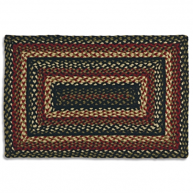 LL Bean Braided Rugs Multicolor In Rectangle Design For Floor Decor Design Photos 13