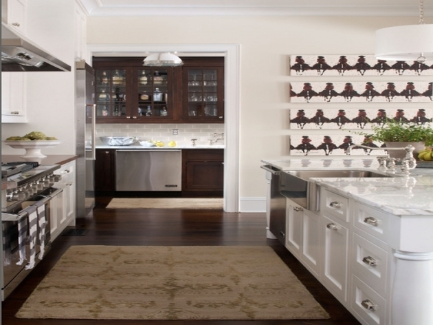 Modern Style Kitchen Area Rugs For Hardwood Floors Sets Gray Picture 87