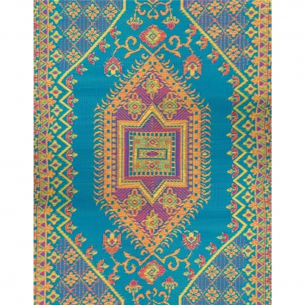 Outdoor Rug Runners Mad Mats Turkish Aqua Pictures 86