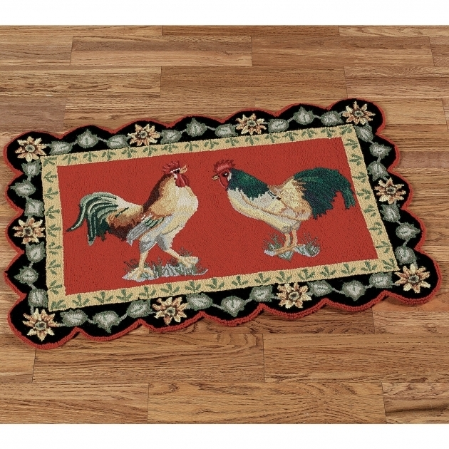 Rooster Rugs For The Kitchen Designs Photos 35