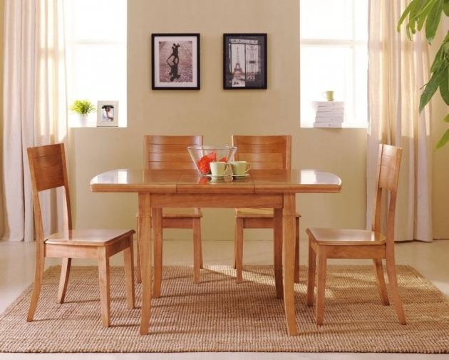 Rugs Under Kitchen Table Decoration Wood Dining Table Photo 12