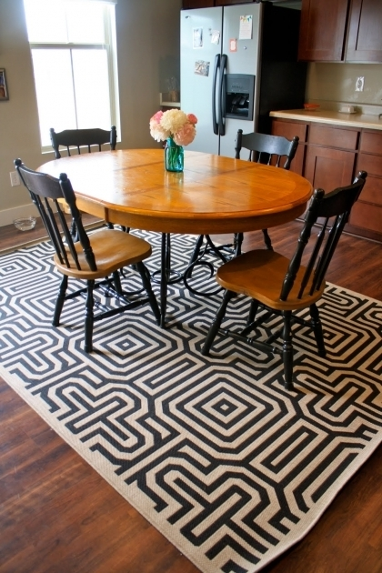 Rugs Under Kitchen Table Furniture Design Area Rug Placement Picture 99