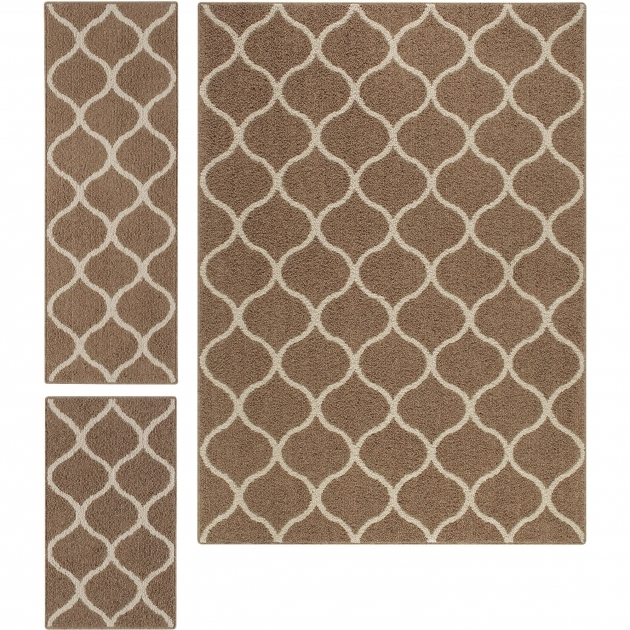 Stylish 3 Piece Kitchen Rug Set Image 56