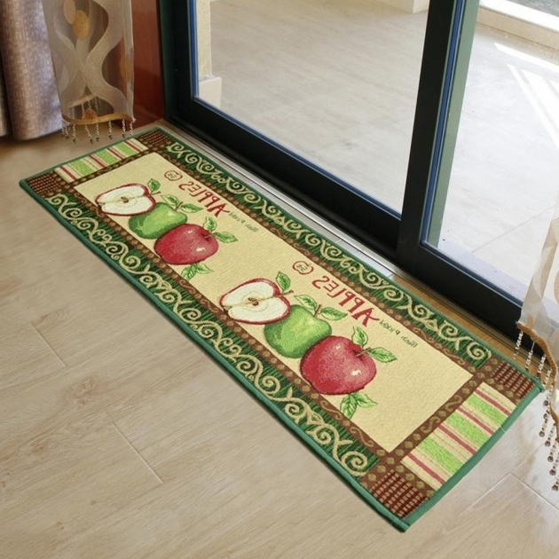 Yazi Vintage Country Style Apple Rugs For Kitchen Images 26