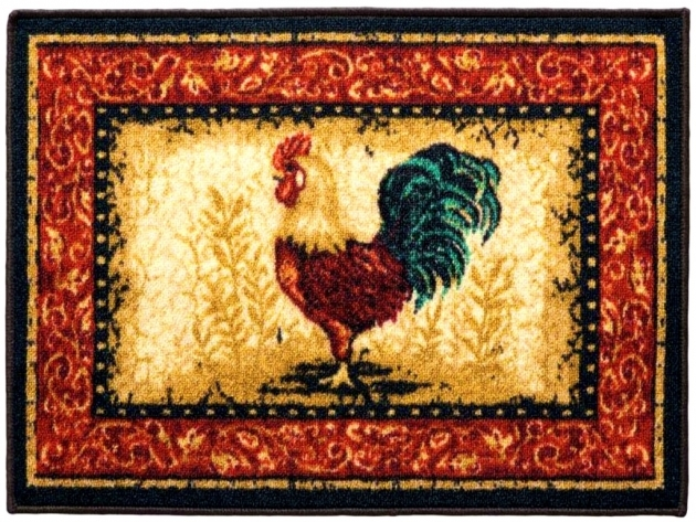 Beautiful Rooster Kitchen Rugs Pics 50