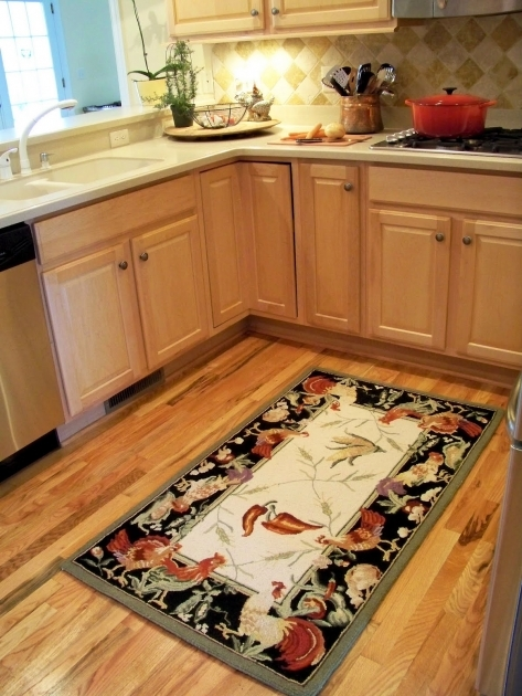 Contemporary Rooster Kitchen Rugs Ideas For Kitchen Area Decoration Pics 94