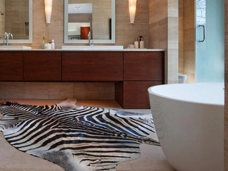 Cool Black And White Extra Large Bathroom Rugs Pic 20