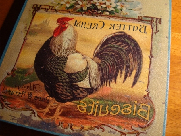 Country Canvas Rooster Chicken Kitchen Rugs Pic 76