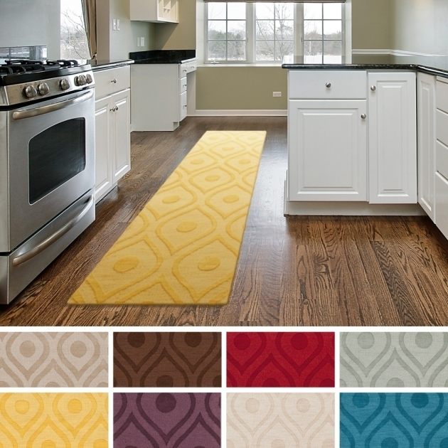 Country Yellow Kitchen Rugs Set Pictures 99