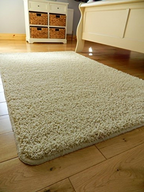 Non Slip Medium Sized Plain Washable Runner Rugs Ivory Cream Bedroom Mats Photos 67