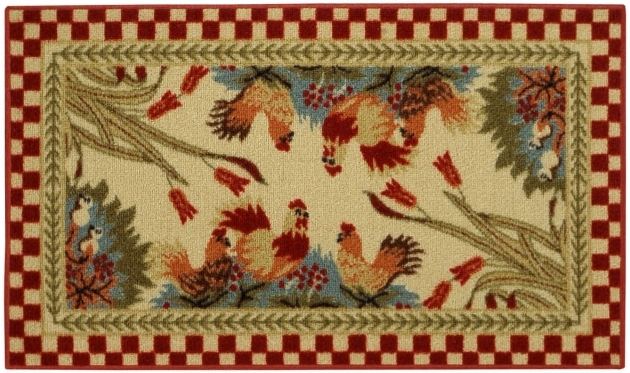 Rectangular Chicken Kitchen Rugs Pattern Decorating Ideas picture 96