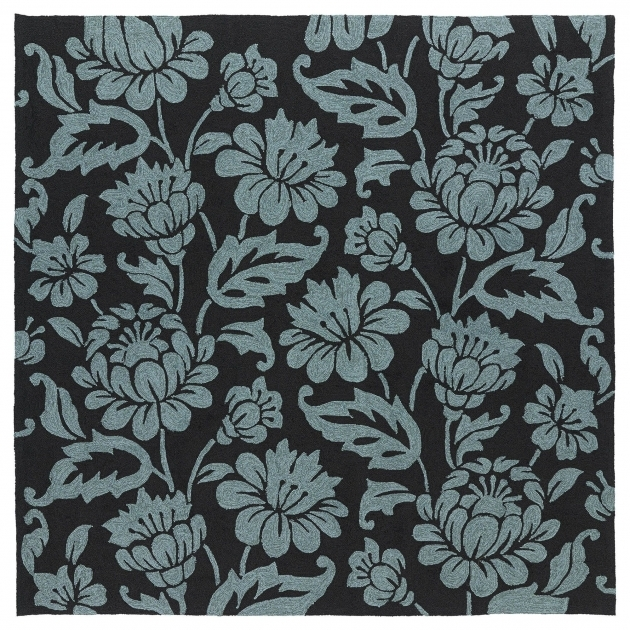 Square Outdoor Rugs Charcoal Calypso 5Ft 9In Photos 12