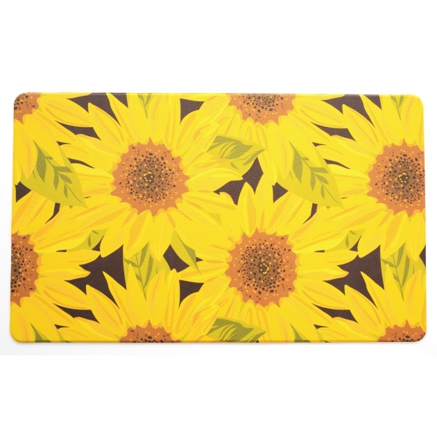 Sunflower Yellow Kitchen Rugs Photo 87
