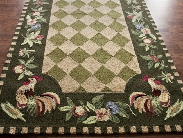 Washable Rooster Kitchen Rugs Country Decor Pics 18