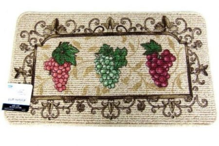 Burgundy Kitchen Rugs
