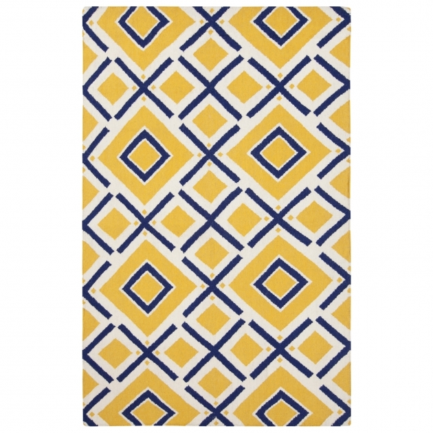 Yellow Kitchen Rugs Wool, Trellis Rug picture 51