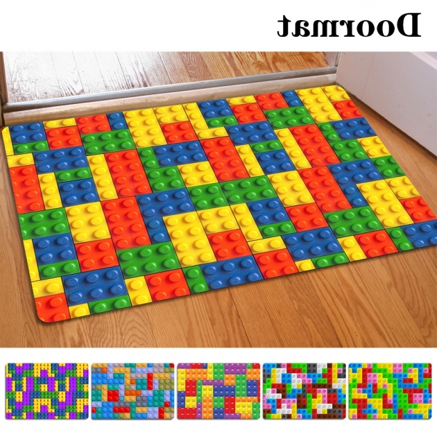 40 60Cm Non Slip 3D Printed Doormats Colorful Kitchen Rugs Pictures 59