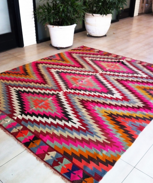 Aztec Runner Rug Kilim Rug From Table Tonic Pictures 16