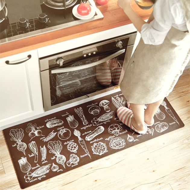 Brown Washable Kitchen Rugs Non Skid Cheap China Photo 71