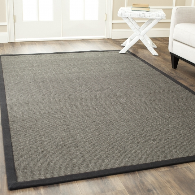 Charcoal Gray Braided Rug Bay Isle Home Belhaven Charcoal Area Rug Photo 41