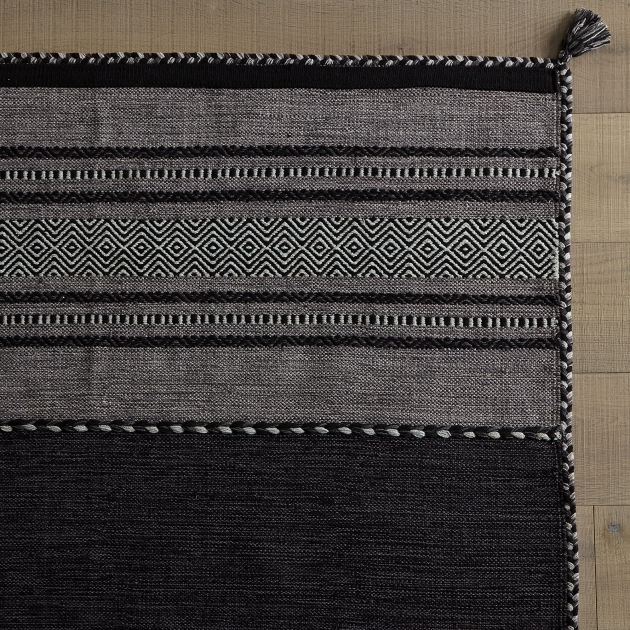 Charcoal Gray Braided Rug Jadide Area Rug picture 74