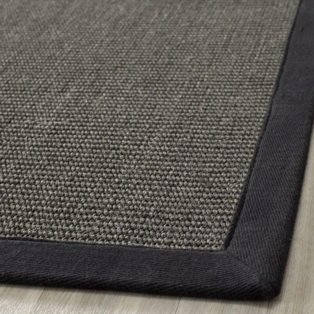 Charcoal Gray Braided Rug Safavieh Casual Natural Fiber Hand-Woven Serenity Photo 47