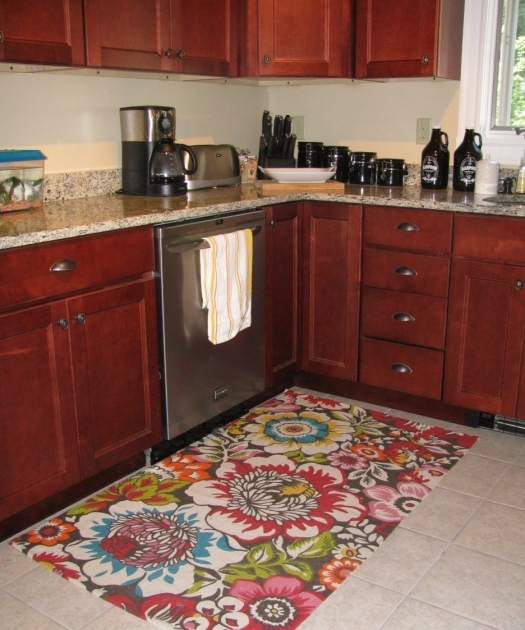 Red Large Kitchen Rugs Photos 32