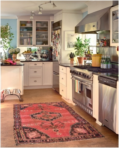 Red Persian Large Kitchen Rugs Simple Photo 00