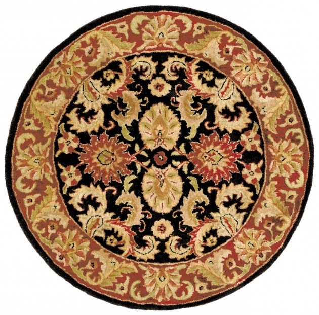 Classic Round Persian Rugs Photos 81