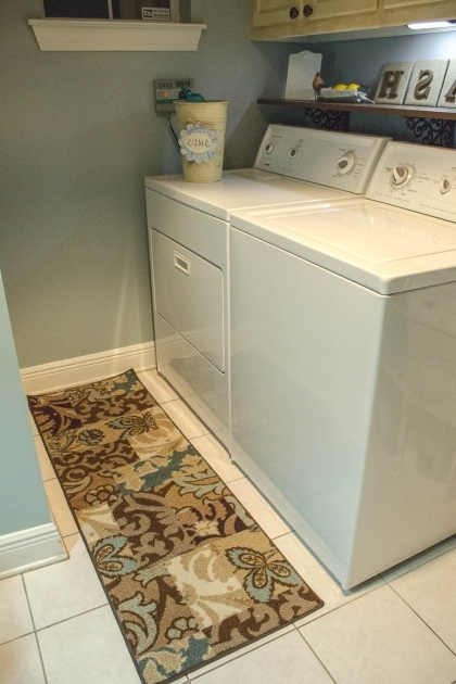Simple Laundry Room With Brown Laundry Room Runner Rug 75