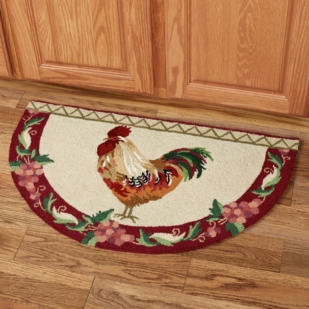 Rooster Rugs For The Kitchen Design